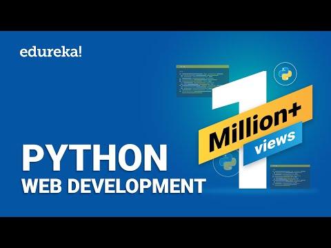Python Web Development   Web Development Using Django   Python Django Tutorial   Edureka