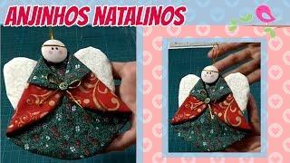 Como Fazer Anjinhos Natalinos - Christmas Angels