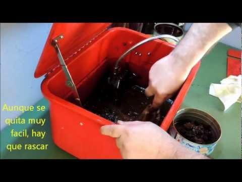 Reciclaje del Gas-Oil de la maquina de lavar piezas, lavadora de piezas