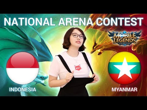 INDONESIA VS MYANMAR - National Arena Contest Cast by Kimi Hime - 14/01/2018