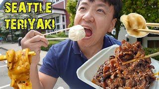 TERIYAKI, BEST Soup Dumplings & THICK NOODLES in Seattle