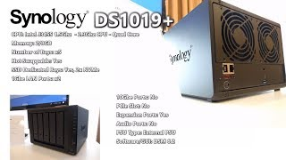 Synology DiskStation NAS DS1019+ 5-Bay, 2x 1GbE, NVMe (8GB RAM)