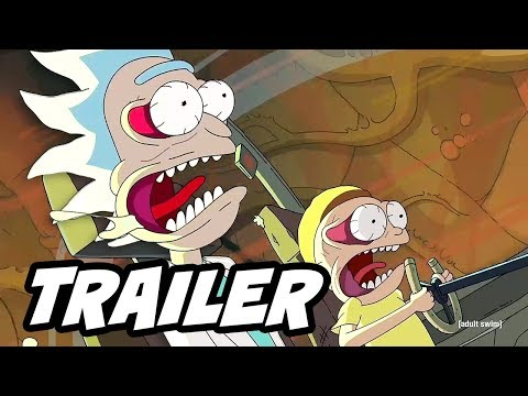 Rick and Morty Season 3 Episode 2 Promo and 3x06 Clip Easter Eggs