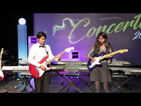 Guitar Duet Performance - Nee Paartha Paarvai | Hey Ram