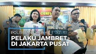 Polisi Kemayoran Tangkap Jambret Spesialis Ponsel di Jakarta Pusat, Terancam Hukuman 7 Tahun Penjara