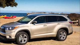 Toyota Highlander. First Drive. Review.