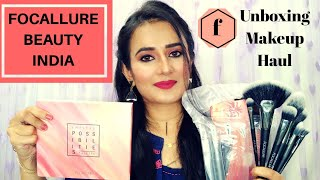 Focallure Beauty India | Unboxing Makeup Haul | Eyeshadow Palette , Makeup Brushes | SWATI BHAMBRA