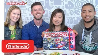 Let's Play Monopoly Gamer: Mario Kart - Nintendo Minute - Video Youtube