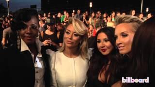 Danity Kane Reunited on the MTV VMAs Red Carpet 2013