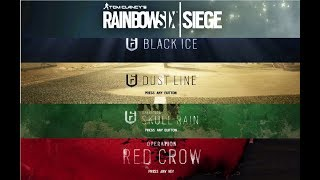 Rainbow Six Siege Year One All Seasons Theme Compilation