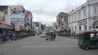 preview picture of video 'Sri  Lanka,ශ්‍රී ලංකා,Ceylon,Kandy City Junction Street Life View'