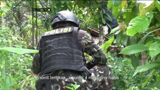 Perburuan Kelompok Sipil Bersenjata - Polda Lampung