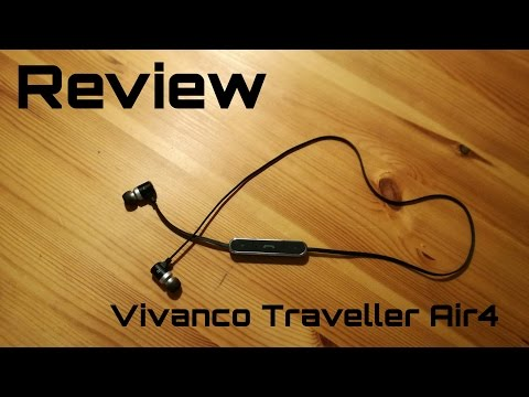 Unboxing und Hands-on  von den Vivanco Traveller Air4 Bluetooth Kopfhörern