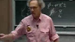 Walter Lewin. 8.02. Electric field inside a charged conductor is zero