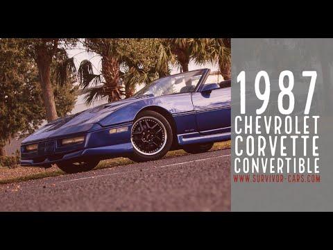 1987 Chevrolet Corvette (CC-1433608) for sale in Palmetto, Florida