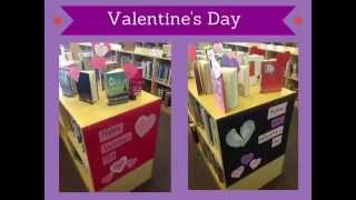 Library Displays:  Promoting YA Literature