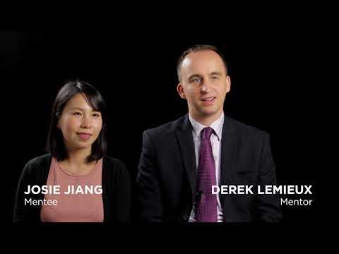 Derek and Josie share their mentorship experience.