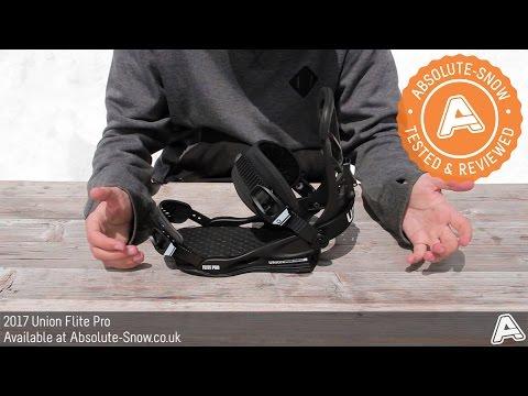 2016 / 2017 | Union Flite Pro Snowboard Bindings | Video Review