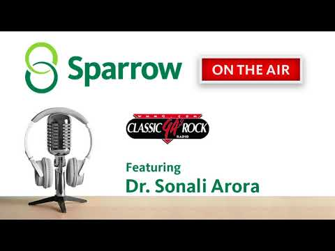 Sparrow On The Air - Dr. Arora on WMMQ