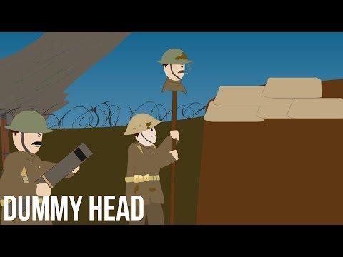 Odstřelovačské návnady – atrapa hlavy