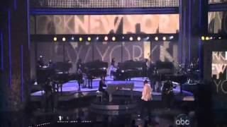 Alicia Keys Featuring Jay Z   New York Empire State Of Mind   Live @ AMA 2009.