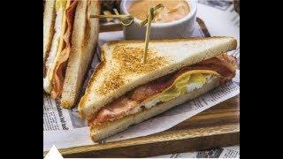 Сэндвич за 3 минуты!!! Очень  вкусно