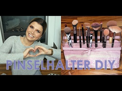 EASY PINSELHALTER DIY 🛠🤓| Karrysbeautychannel ♥