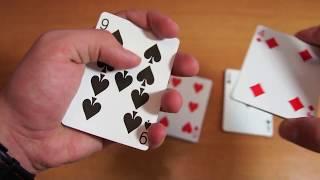 Бесплатное обучение фокусам #59: Фокусы с картами! Лучшие фокусы в мире!