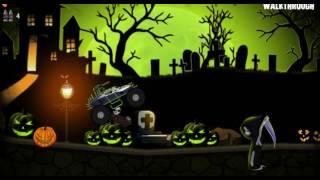 Машинка #хэллоуин #монстр-трак #мультик / #Toycar # Halloween # monster-truck #cartoonmarch 3