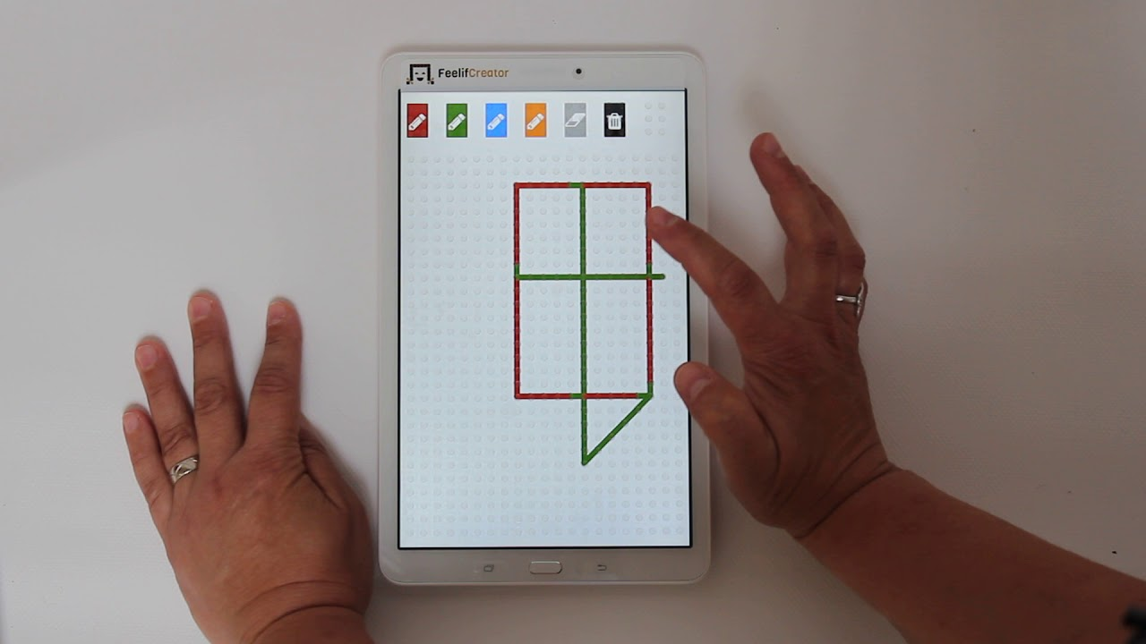 watch video Feelif Draw - for blind and visually impaired