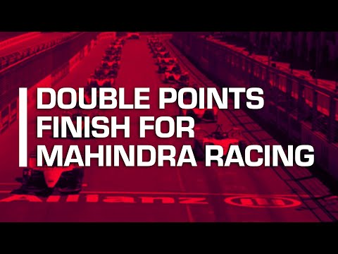 Double points Finish For Mahindra Racing | New York City E- Prix Highlights | Formula E