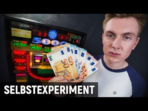 Wie reich werde ich beim Glücksspiel? - Selbstexperiment Spielothek