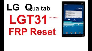 How to reset bypass FRP LG T31 LGt310c hard reset