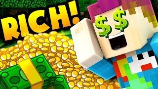 THE RICHEST MAN IN MINECRAFT!! - Candy Prison #9