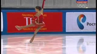 Evgenia MEDVEDEVA 2014 SP Russian Nationals