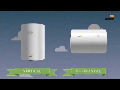 Termos eléctricos: ¿Horizontales, verticales o reversibles?