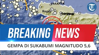 BREAKING NEWS: Gempa Bumi Guncang Sukabumi, Terasa Sampai Jakarta dan Bogor