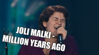 Joli Malki – Million Years Ago | The Voice of Finland | Nelonen