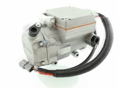 Compresor para aire acondicionado móvil Eléctrico 12 y 24 Voltios