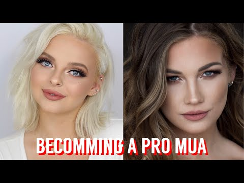 BECOME A PRO MAKEUP ARTIST TIPS// MegsCahill