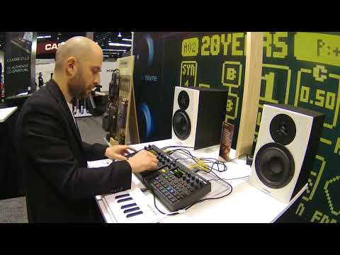 NAMM 2018   Dataline live with Digitone and Digitakt