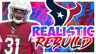 Rebuilding The Houston Texans - Madden 20 Realistic Rebuild