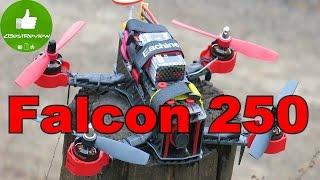 ✔ Eachine Falcon 250 - FPV Полет на Гоночном Квадрокоптере! Banggood