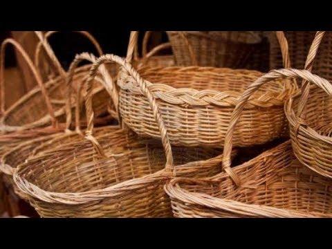 Плетение из лозы корзин и мебели как бизнес идея