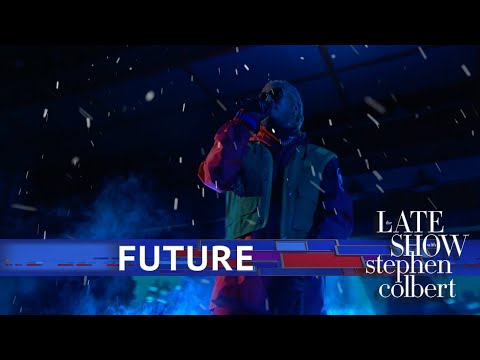 Future Performs 'Crushed Up' - The Late Show With Stephen Colbert