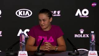 Ashleigh Barty Press Conference | 2019 Australian Open Second Round