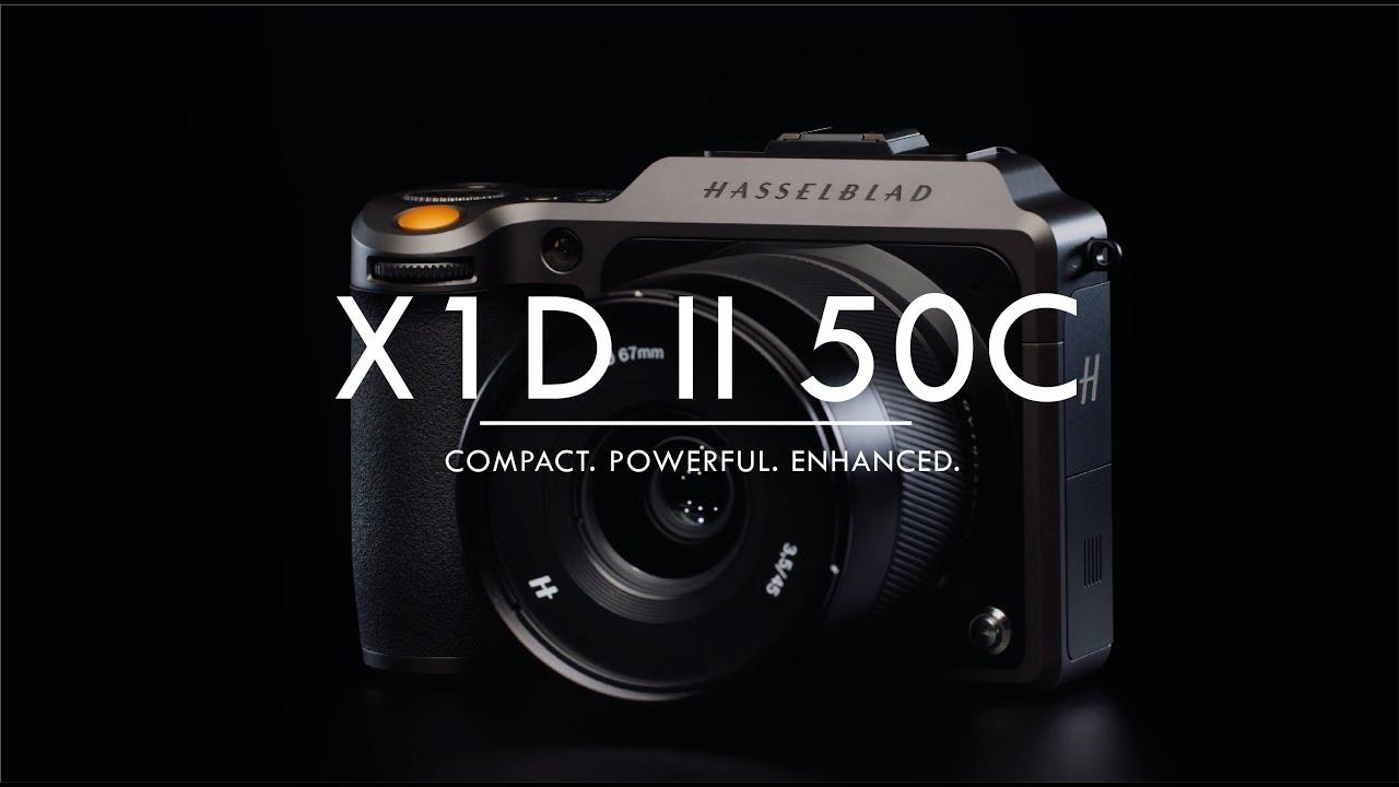 מצלמת פורמט בינוני ללא מראה Hasselblad X1D II 50C