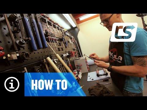 How to Lower Leg service & travel adjustment Formula 35