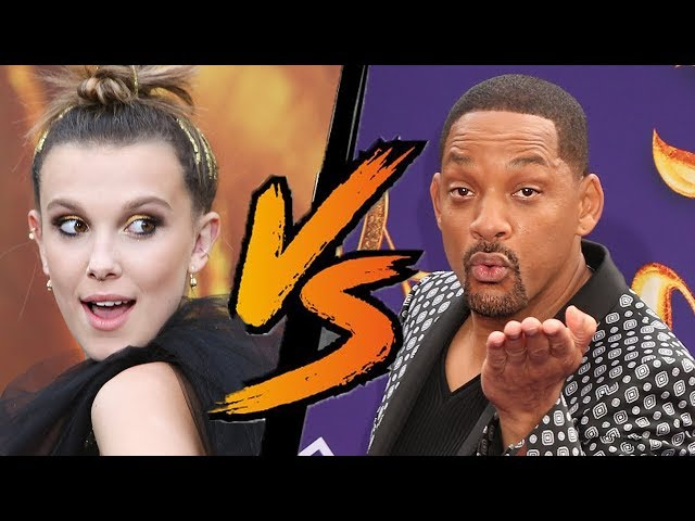 Will Smith & Millie Bobby Brown - Aladdin VS Godzilla Best Dress Wars