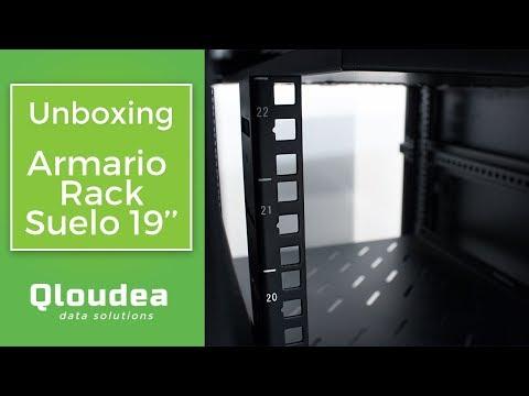 Armarios Rack de suelo Qloudea - Sacar de la caja y listo para trabajar